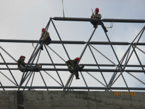 Steel Structure Space Frame Indoor Basketball Hall pictures & photos