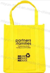 Bright-Colored Nonwoven Shopping Tote Bag (M. Y. C. -010) pictures & photos