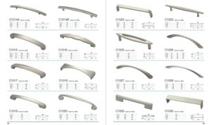 Modern European New Style Zamak Double Sided Furniture Handle pictures & photos