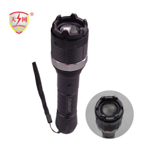 Military Zoomable Aluminum Electric Police Stun Guns with Flashlight pictures & photos
