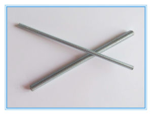DIN976 Thread Rod / Thread Bar with Galvanized pictures & photos