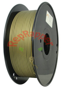 Well Coiling 3.0mm Bronze PLA 3D Printing Filament pictures & photos