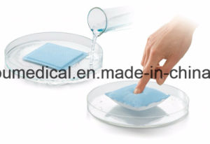 Superabsorbent Dressing for High Exudate Leg Ulcer pictures & photos