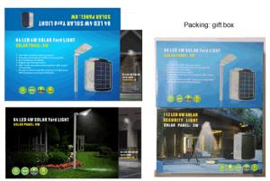 64PCS (5W) Solar Yard & Garden Lighting Kit