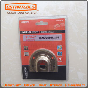 Flush Cut Diamond Blade 70mm for Removing Dmaged Tile Grout pictures & photos