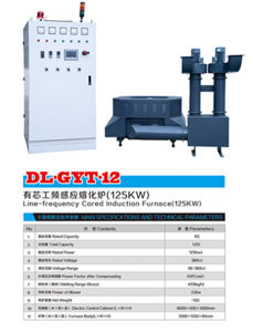 Line-Frequency Cored Induction Furnace (125KW) Dl-Gyt-12 pictures & photos