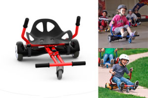 Two Wheel Electric Balancing Scooter Bracket Kids Hoverboard Seat Go Cart pictures & photos