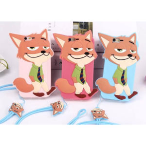 Hot Sale Anti-Slip Fox Nick Phone Case for iPhone 5/6/6plus pictures & photos