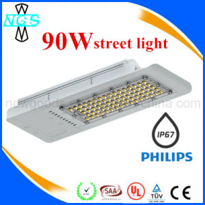 Waterproof IP67 100W LED Street Light with Philips and MW pictures & photos