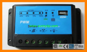 DC12V Port 24V PWM 10A Solar Charge Controller pictures & photos