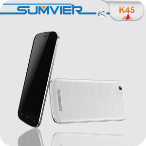 Mtk6582 Quad Core Android 4.4 Kitkat Front 5MP Back 8MP Camera 5 Inch Cell Phone