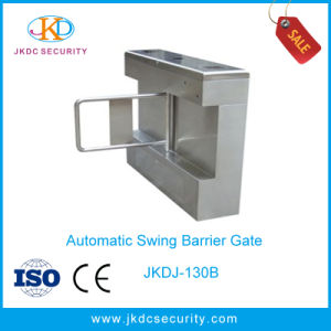 Automatic Access Control Waist Height Swing Gate with Ce pictures & photos