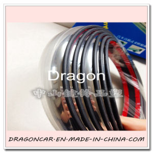 Car Wheel Eyebrow Chrome Trim for Protection and Decoration pictures & photos