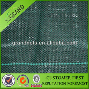 High Quality Black Plastic PP Weed Matting in Garden pictures & photos