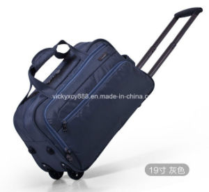 Built-in Wheeled Trolley Whaterproof Luggage Travel Bag Handbag (CY6923) pictures & photos