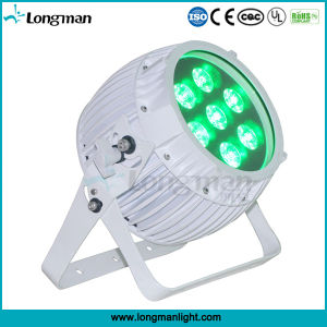 Outdoor 7*14W Rgbaw+UV DMX Battery Powered Wireless LED PAR Can pictures & photos