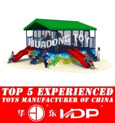 New Design Customized Manufacturer for Children Kids Outdoor/Indoor Playground Big Slides for Sale -Trampoline New Model 2015 HD15b-130b pictures & photos