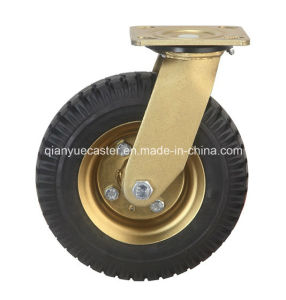 Heavy Duty Pneumatic Rubber Caster Wheel pictures & photos