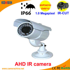 50m IR Weatherproof 1.0 Megapixel Ahd Camera pictures & photos