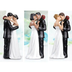 High Quality Lillian Rose Caucasian Tender Moment Figurine for Wedding Cake Decoration pictures & photos