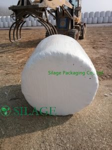 Colorful LLDPE Film High Quality Silage Wrap Film, Farm Straw Packing Film for New Zealand pictures & photos