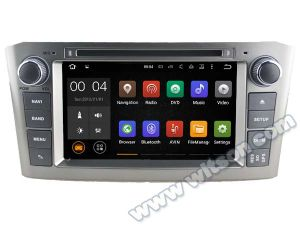 Witson Android 5.1 Car DVD GPS for Toyota Avensis 2005-2007 with Chipset 1080P 16g ROM WiFi 3G Internet DVR Support (A5587) pictures & photos