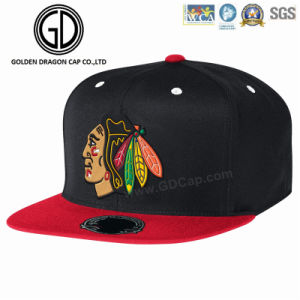 2016 Fashion New Flat Square Firm Brim Era Snapback Baseball Cap pictures & photos