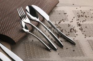18/8 Stainless Steel Spoon Fork Knives Cutlery Dinnerware Set pictures & photos