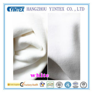 White Knit Cotton Spandex Stretch Fabric for Home Textiles pictures & photos