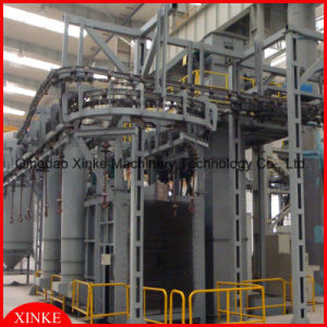 LPG Cylinder Shot Blasting Cleaning Machine pictures & photos