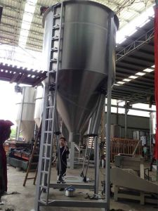 Plastic Pellets Mixer with Heating Function Customized Accepted pictures & photos