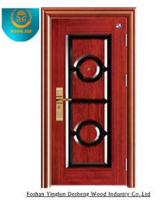 Metal Painting Door Steel Door for Egypt pictures & photos