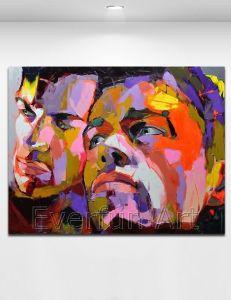 100% Handmade Oil Painting Pop Art on Canvas (KVP-169) pictures & photos