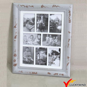Vintage Gray Multi Opening Shabby Chic Wall Photo Frames pictures & photos