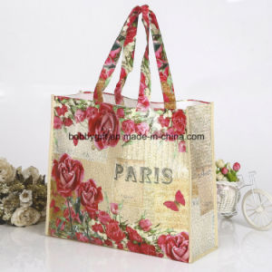Custom Fashion Recycle Non Woven Gift Shopping Tote Grocery Bag pictures & photos