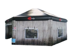 Inflatable Wooden Lodge Tent Cht273 pictures & photos