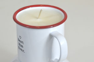 Painting Clear Glass Scented Soy Candle