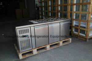 New Style Stainless Steel 3 Door Commercial Refrigerator for Sale pictures & photos