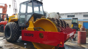 Available-Germany-Deutz-Engine 12ton Global-Favored Sheep-Feet-Cap Used Dynapac Ca25pd Road Roller pictures & photos