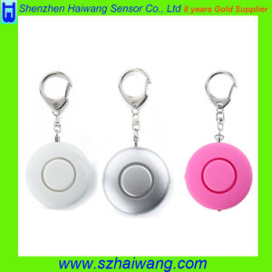 ABS OEM Multifunction Personal Alarm Promotion Gift with Keychain Adjustable LED Light pictures & photos