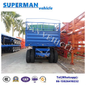 4 Axle Utility Transport Cargo Pulling Dolly Semi Truck Trailer pictures & photos