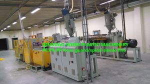 PP PE Spiral Wrapping Hose Extrusion Line pictures & photos