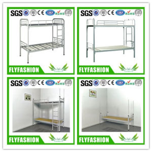 School Simple Modern Double Metal Bunk Bed (BD-34) pictures & photos