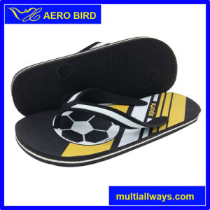 New Arrival Men Slipper Sandal Shoes with New Design Print pictures & photos