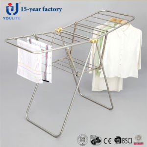 New Style All Stainless Steel Fldable Clothing Rack pictures & photos
