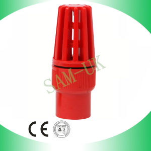 Plastic PVC Valve Industrial Irrigation Emergency Water Pump Foot Valve pictures & photos