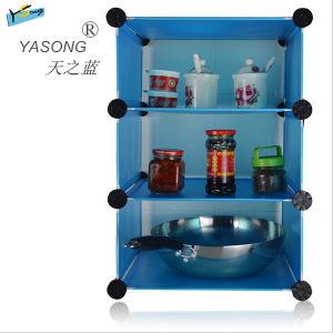 Blue Shoes Rack Storage Shelf for Kitchen