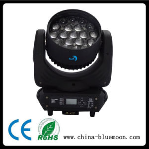 19PCS 12W 4in1 RGBW LED Zoom Moving Head Wash Light pictures & photos