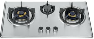 Three Burner Gas Cooktop (SZ-LX-258) pictures & photos