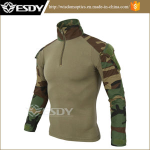 Army Military Style Jungle Camo Tactical Combat Frog Shirts pictures & photos